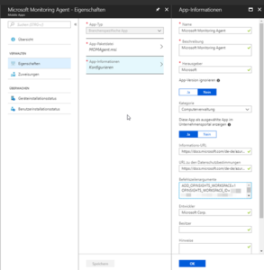 Microsoft Operation Management Agent mit Intune verteilen