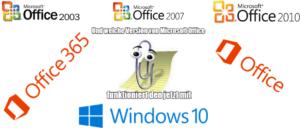 Welche Office Version funktioniert mit Windows 10