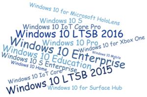 Auswahl der richtigen Windows 10 Edition