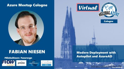 Speaking at the Global Azure Bootcamp 2020 Virtual – Cologne