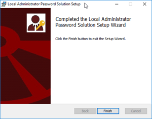 Local Administrator Password Solution (LAPS)