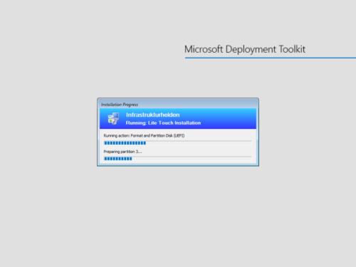 Netzwerkinstallation mit dem Microsoft Deployment Toolkit – Teil 3: Erstellung von Tasksequenzen